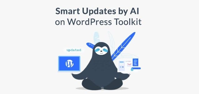 Plesk Smart Updates by AI on WordPress Toolkit