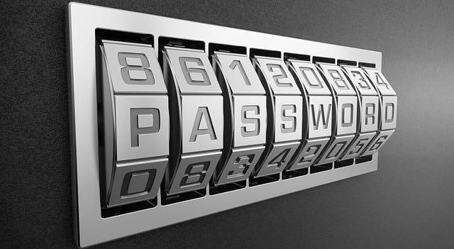 Passwort Schloss