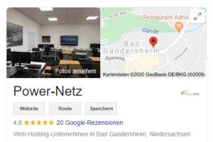 Rezensionen Google