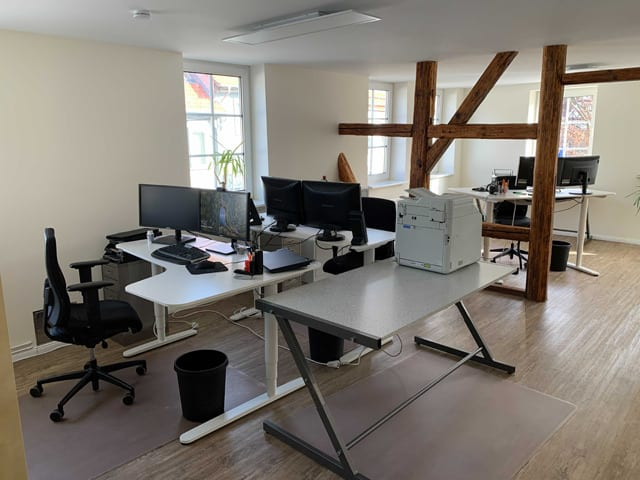 Büro Bad Gandersheim Arbeitsplatz